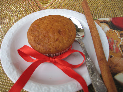 Christmas is coming: muffin arancia e cannella!
