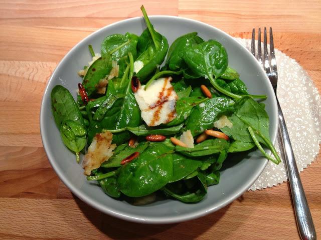 Insalata di spinacini, ovvero come far mangiare la verdura a marito