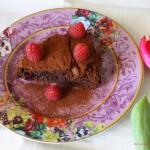 Un post di sfogo. E di corsa. E di calorie. Torta cioccolato e lamponi di Pierre Hermé.