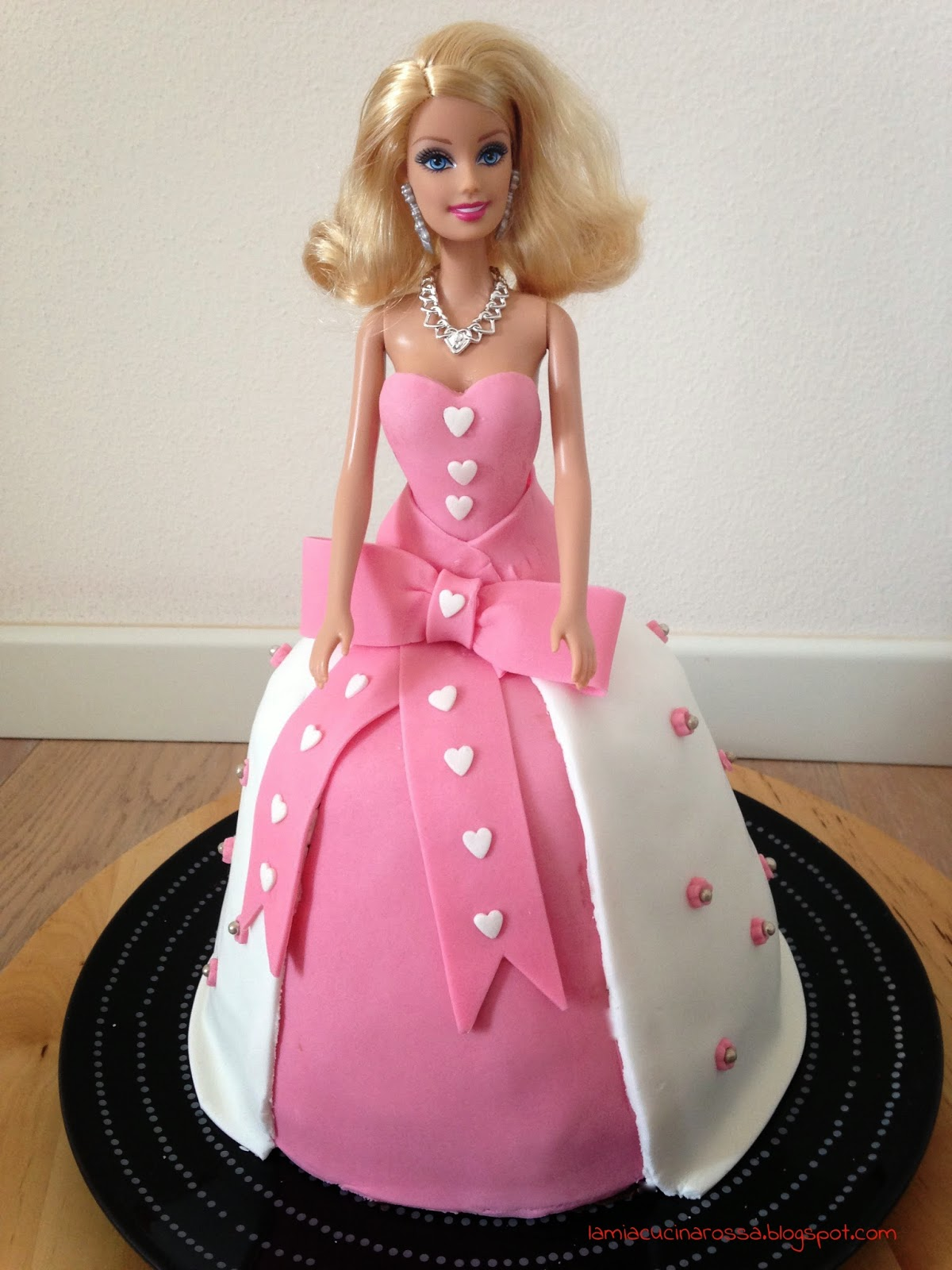 Torta Barbie for dummies (e se ce l'ho fatta io..)