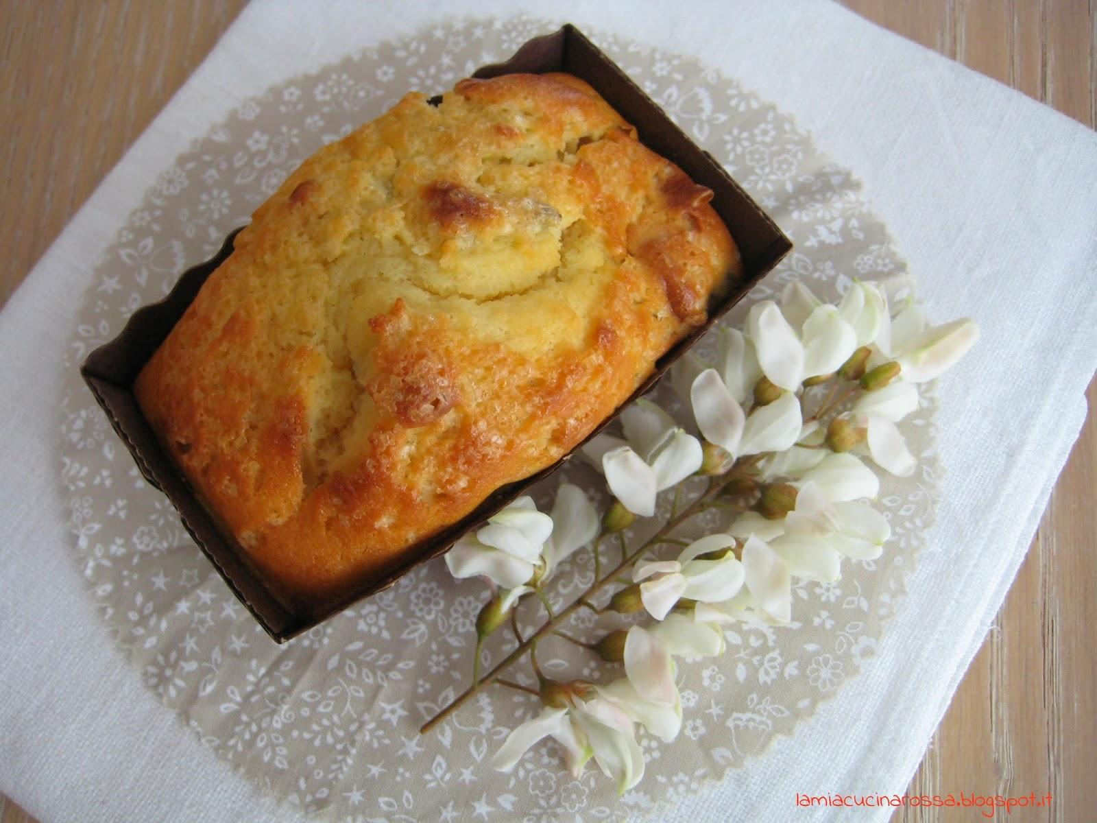 Plum cake ai fiori di acacia…