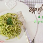 Come combatto la desertificazione del frigo di lunedì: spaghetti al pesto di prezzemolo