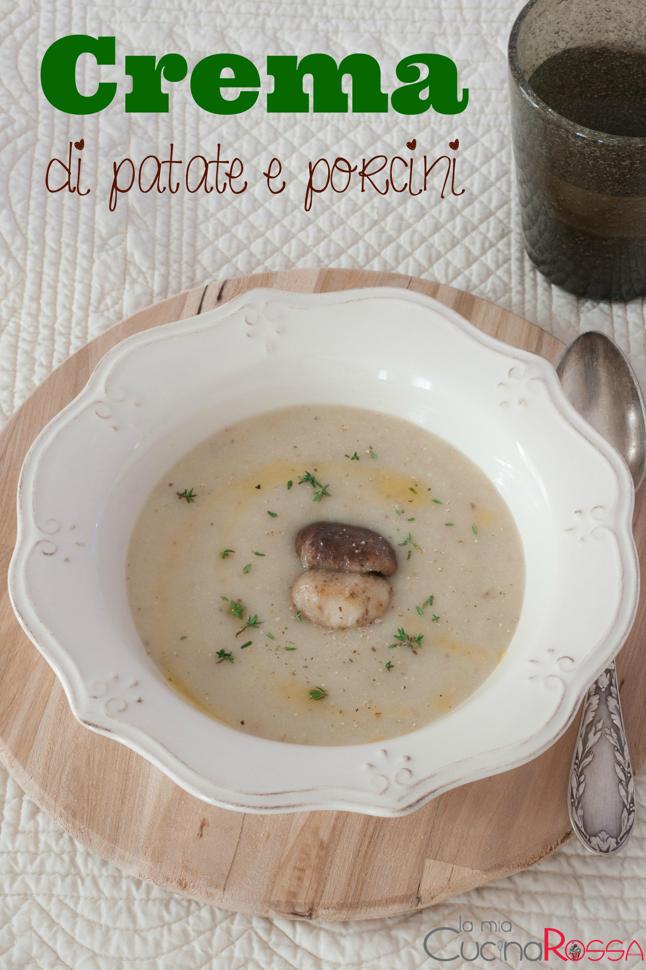 zuppa di patate e porcinicicciona