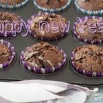 Muffins al cioccolato per un 2016 di gioia!