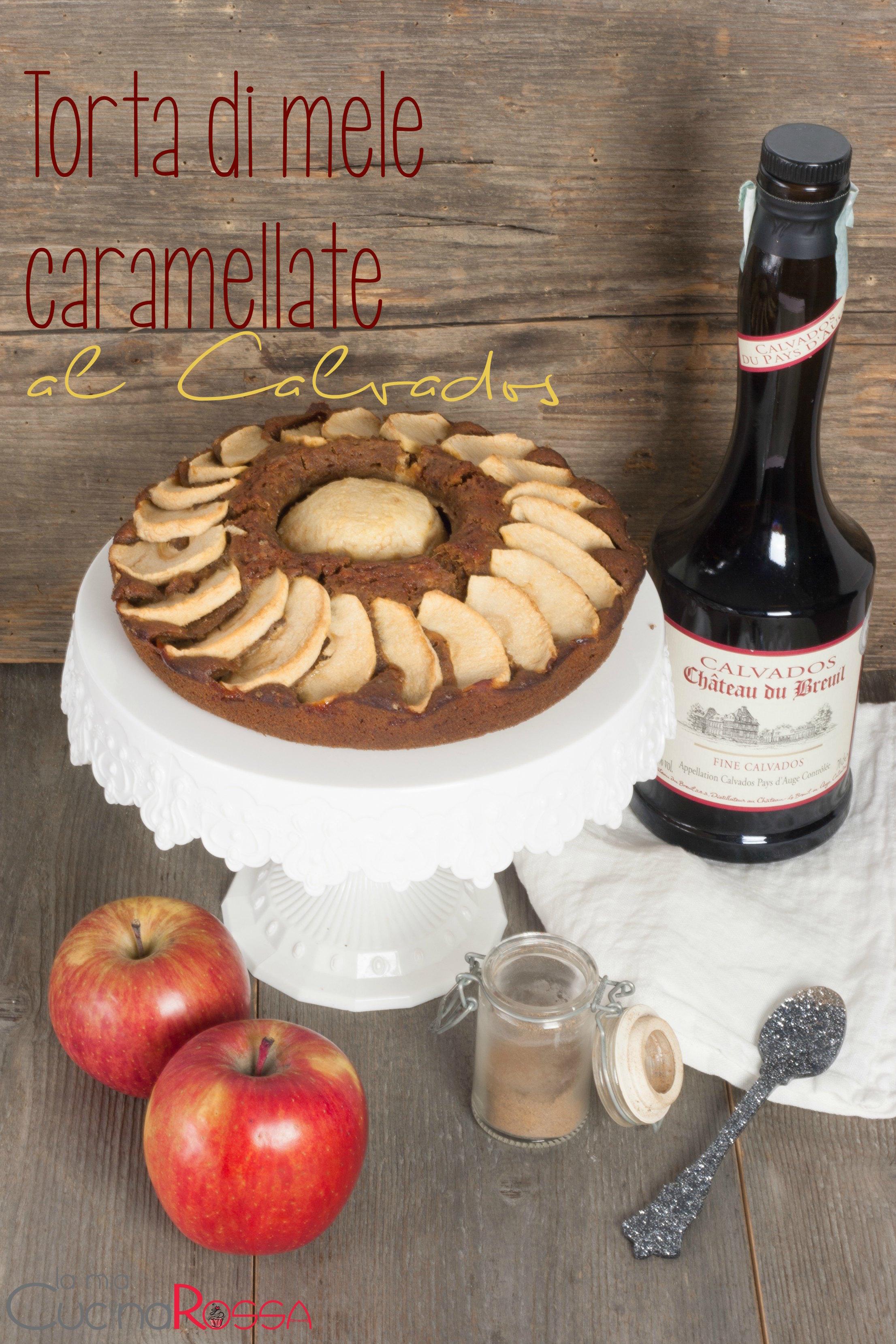 torta di mele caramellate-