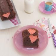 Plumcake di San Valentino
