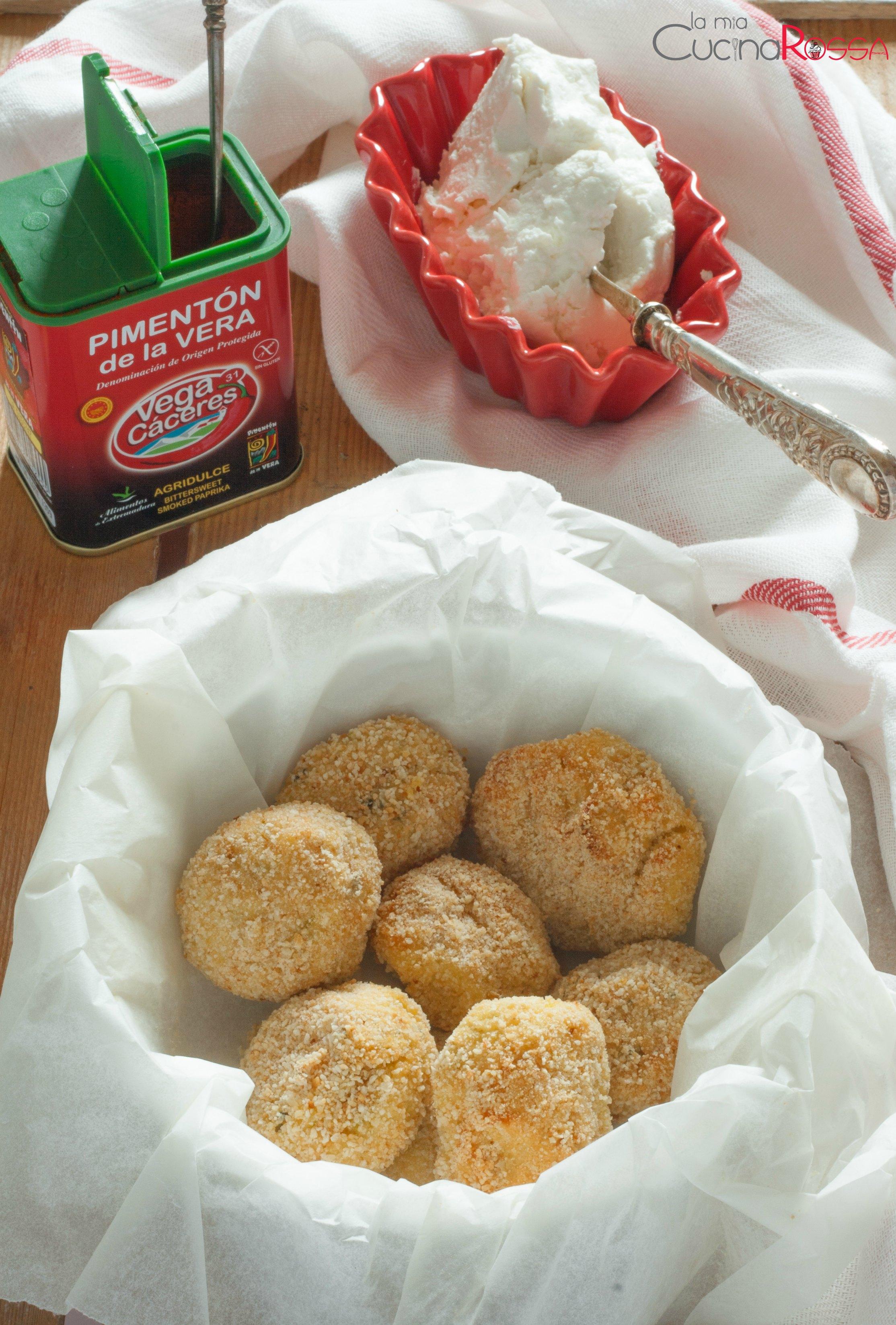 polpette ricotta zucchine e paprika affumicata-2
