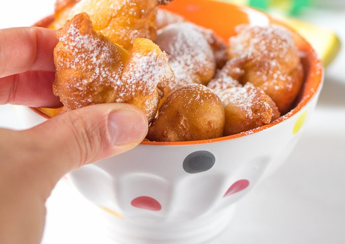 Frittelle con le mele
